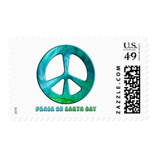 Peace On Earth Day Postage