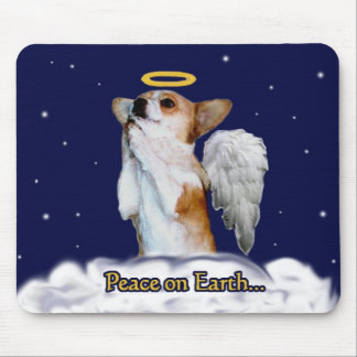 Peace on Earth Dott Angel Mouse Pad