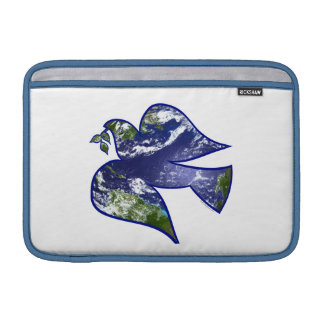 Peace on Earth Dove Sleeves For MacBook Air