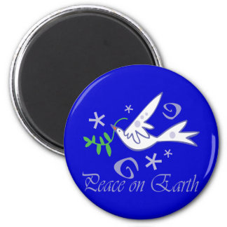 Peace on Earth Dove Magnet Magnet