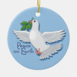 Peace on Earth Dove Ornament Christmas Ornaments