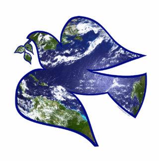 Peace on Earth Dove Photo Cutout