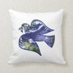 Peace on Earth Dove Pillows