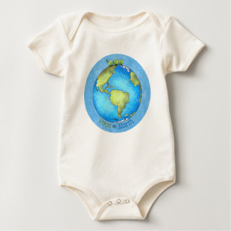 Peace on Earth - Earth day Baby Bodysuit