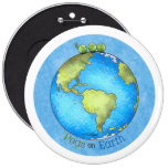 Peace on Earth - Earth day Pin