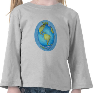 Peace on Earth - Earth day T Shirts