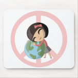 """Peace on Earth"" Emily Mousepad"