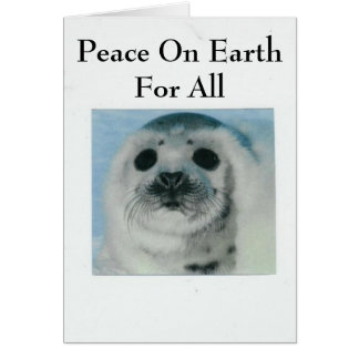 Peace On Earth For All Card