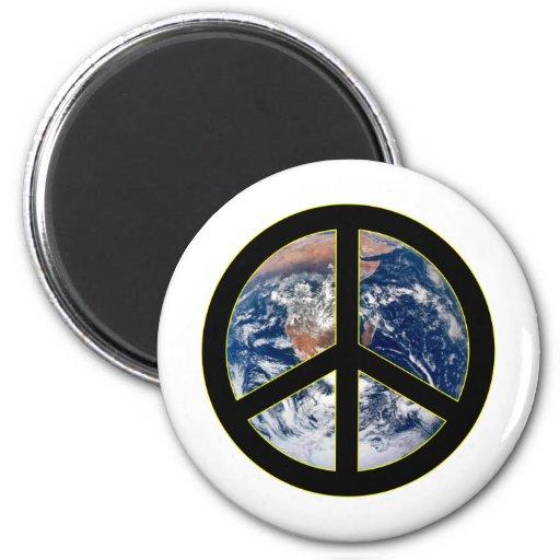 Peace On Earth Fridge Magnets