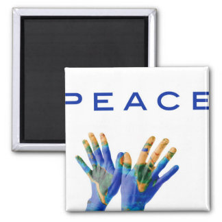 Peace on Earth Fridge Magnets