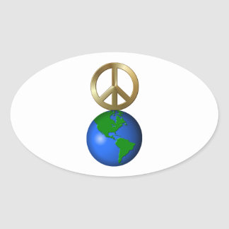Peace On Earth Fun Rebus Holiday Greeting Stickers