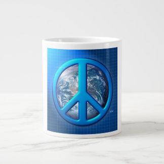 Peace On Earth Giant Coffee Mug