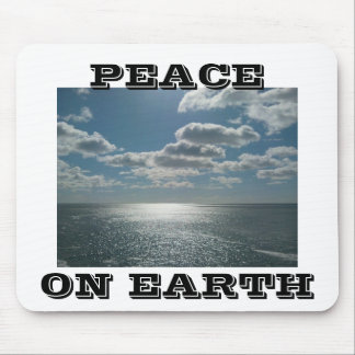 PEACE ON EARTH GIFT MOUSE PAD