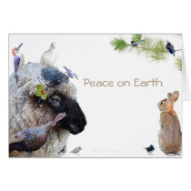 Peace on Earth: Good will towards All Card