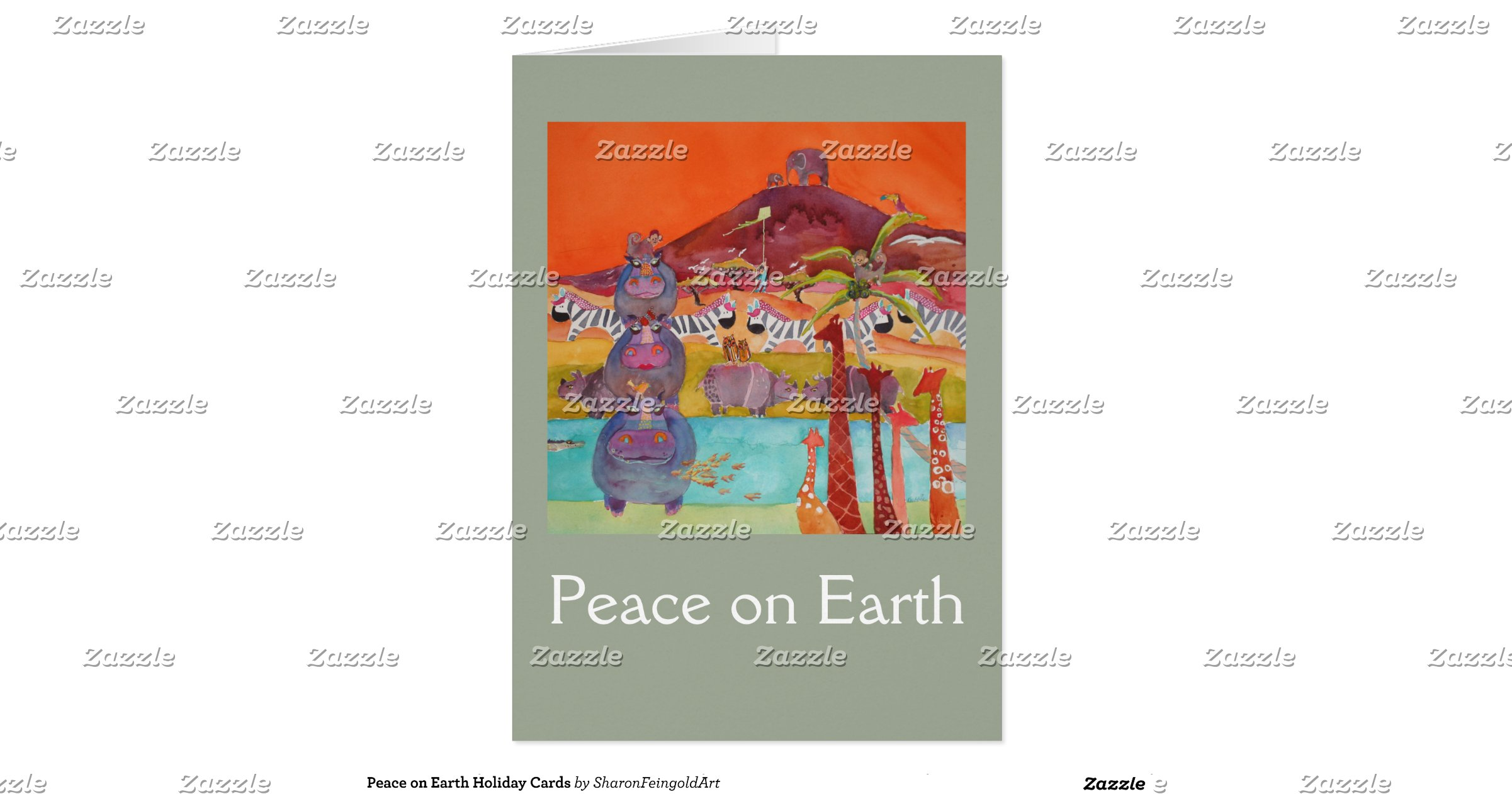 Peace on Earth Holiday Cards | Zazzle