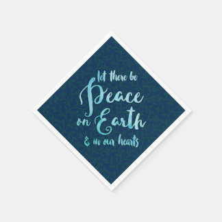 Peace on Earth - Holiday Cocktail Napkins