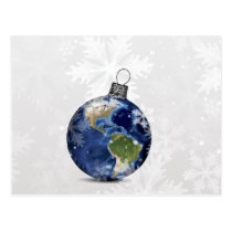 Peace on Earth Holiday Corporate PostCard