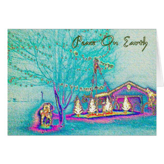 Peace On Earth Holiday Gifts Greeting Cards