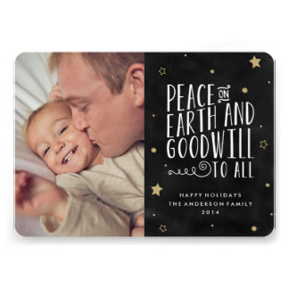 Peace on Earth | Holiday Photo Card Announcement