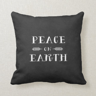 Peace on Earth Holiday Pillow