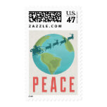 Peace On Earth Holiday Postage Stamp