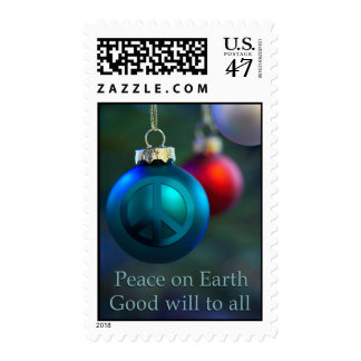 Peace on Earth Holiday Postage Stamps
