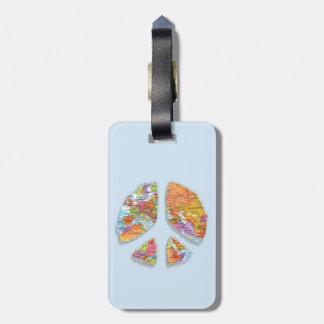 Peace On Earth II Luggage Tag