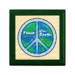 Peace on Earth Jewelry Box
