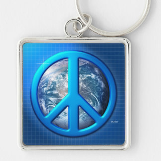 Peace On Earth Key Chains