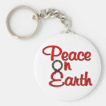 Peace On Earth Keychains