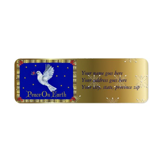 Peace On Earth Label