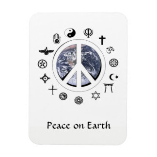 Peace on Earth Magnet