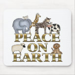 Peace On Earth Mouse Mats