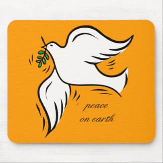 Peace on Earth Mouse Pad