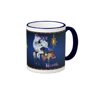Peace On Earth_Mugs Ringer Coffee Mug