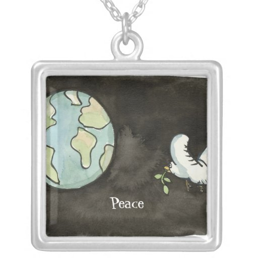 Peace on Earth Necklace