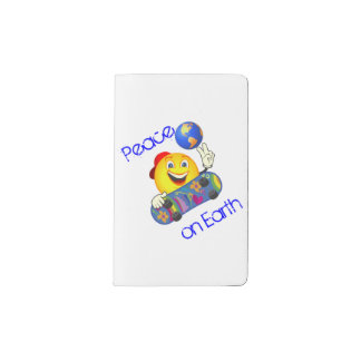 Peace on Earth Notebook Cover
