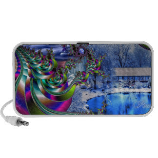 Peace On Earth Notebook Speakers