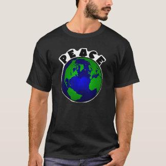 peace on earth on dark color shirt ~ bigger design