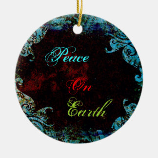 Peace on Earth Ornament By Seay