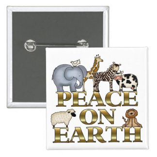 Peace On Earth Pin