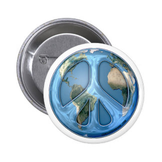 Peace On Earth Pinback Button