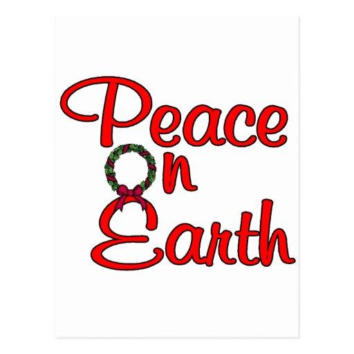 Peace On Earth Post Card