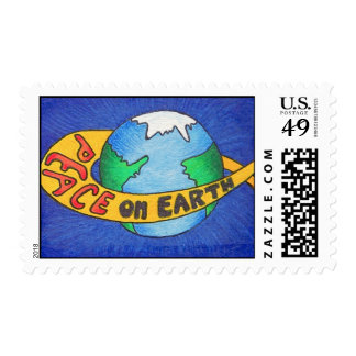 PEACE on Earth Postage