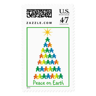Peace on Earth postage stamp