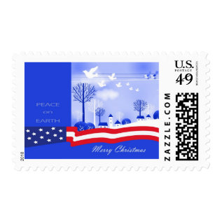 Peace on Earth Postage Stamps at Zazzle
