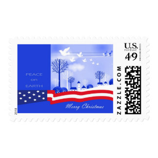 Peace on Earth Postage Stamps