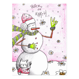 Peace on Earth - Postcard for a Cause