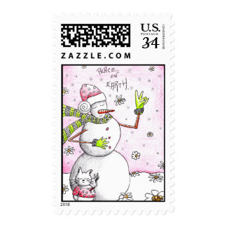 Peace on Earth - Postcard Postage