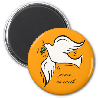 Peace on Earth Refrigerator Magnets